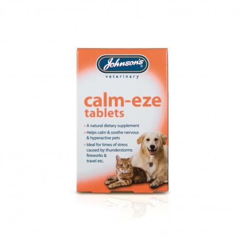 Pastillas calmantes Johnsons Veterinary para mascotas
