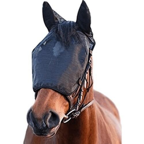 Máscara de redecilla de alivio para montar color Negro