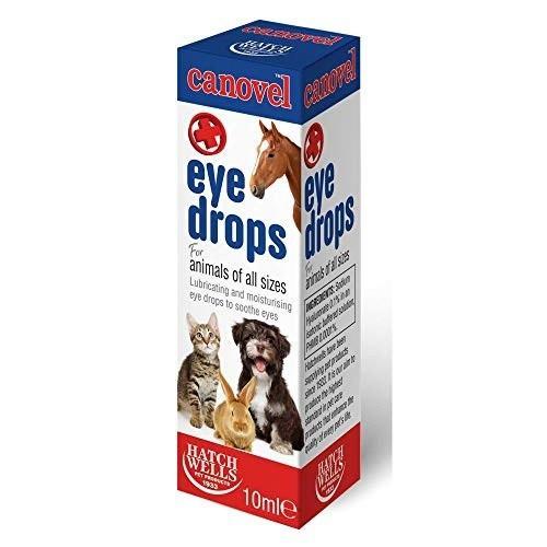 Gotas para los ojos Canovel para mascotas