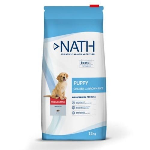 Pienso Nath Puppy Medium/Maxi Pollo para cachorros