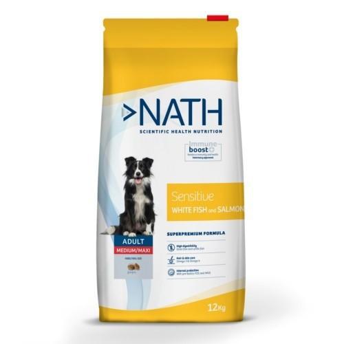 Pienso Nath Sensitive Adult Medium/Maxi Pescado