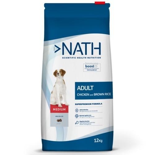 Pienso Nath Adult Medium Pollo para perros