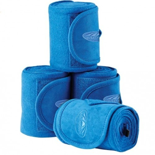 Pack de 4 vendajes Weatherbeeta color Azul eléctrico