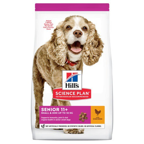 Hills Canine Senior con Pollo Mini