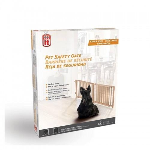 Barrera de seguridad Dogit para cachorros 122 cm x 203 cm x 45,5 cm