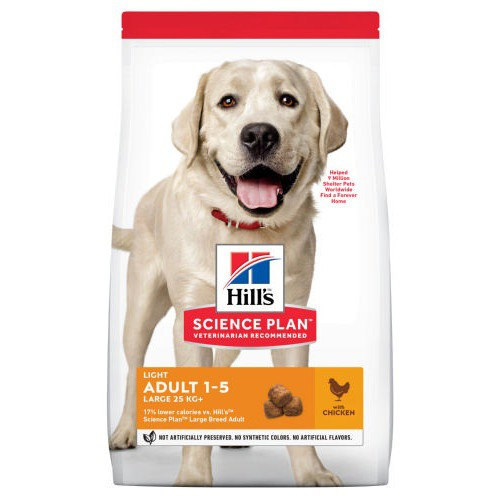 Hills Canine Adult Light Razas Grandes