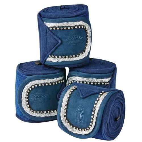 Vendas Weatherbeeta tejido polar para caballos color Azul marino