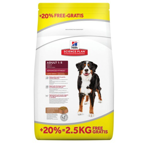 Hills Canine Adult Razas Grandes Cordero y Arroz