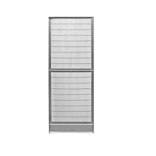 Panel liso voladero galvanizado 6, 9 o 12 lados