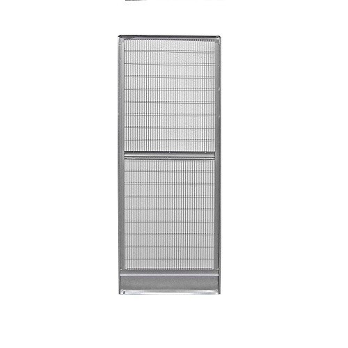 Panel con puerta para voladeros 6, 9 o 12 lados galvanizado