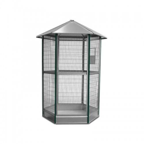 Voladero galvanizado 6 lados sin accesorios color Verde/Metal