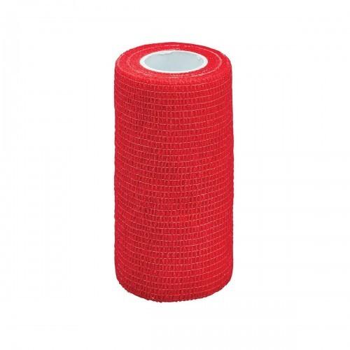 Vendaje flexible Cottage Craft para caballos color Rojo