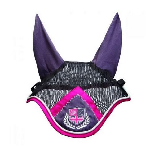 Máscara Cottage Craft club para caballos color Carbón