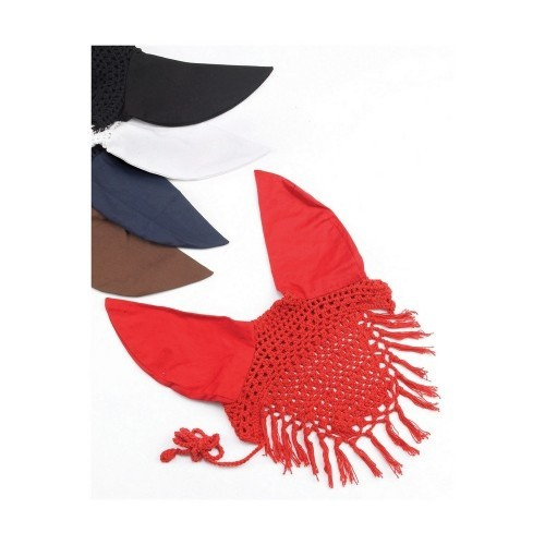 Mosquero protector antimoscas de algodón color Marrón