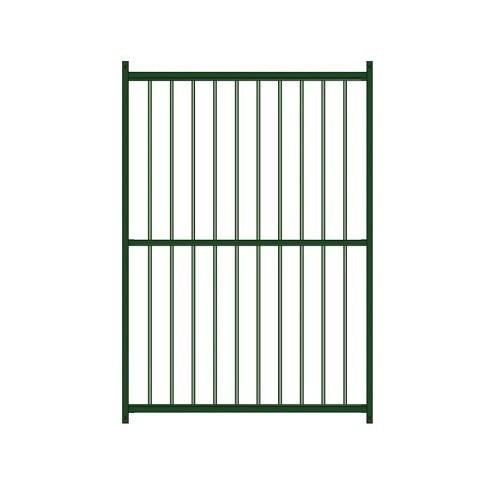 Panel lacado barras para perrera color Verde