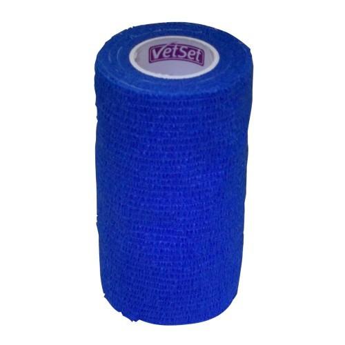 Vendaje cohesivo VetSet para caballos color Azul