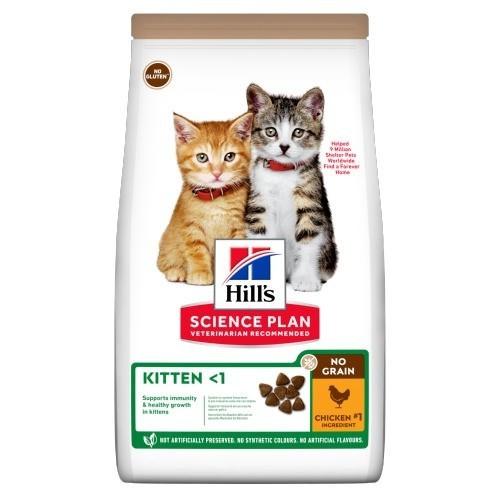 Hill?s Science Plan Kitten No Grain Pollo para gatitos