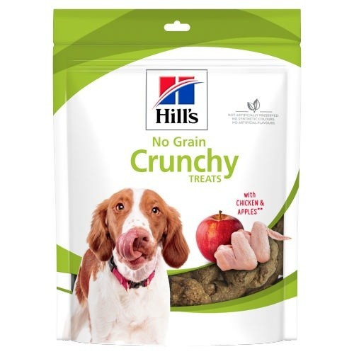 Hill's No Grain Crunchy Treats pollo y manzana