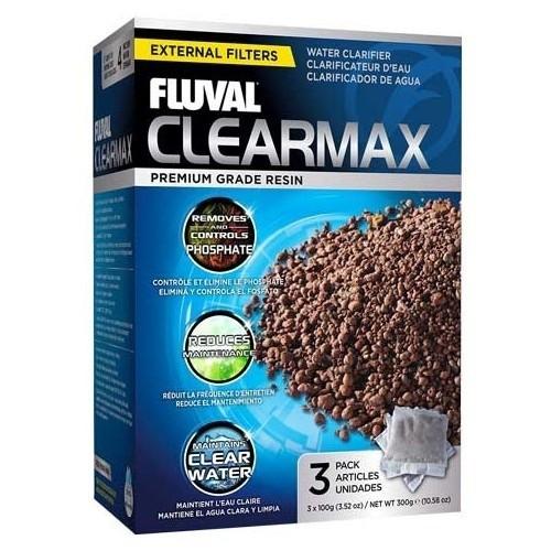 Resina limpiadora de agua Clearmax 3 x 100 gr
