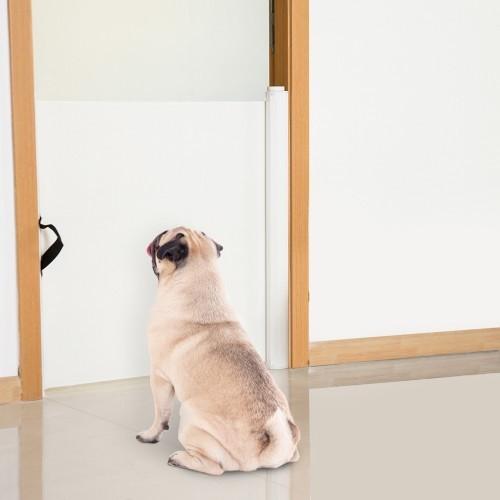 Barrera separadora PawHut para mascotas color Blanco