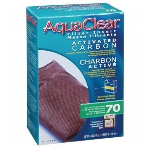 Carbón Aquaclear 70 para acuarios