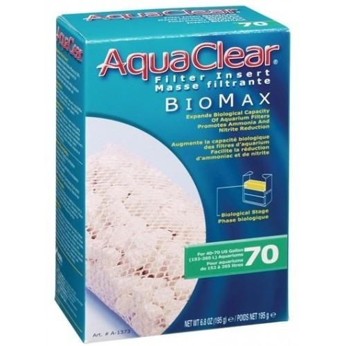 Carbón Aquaclear Biomax 70 para acuarios