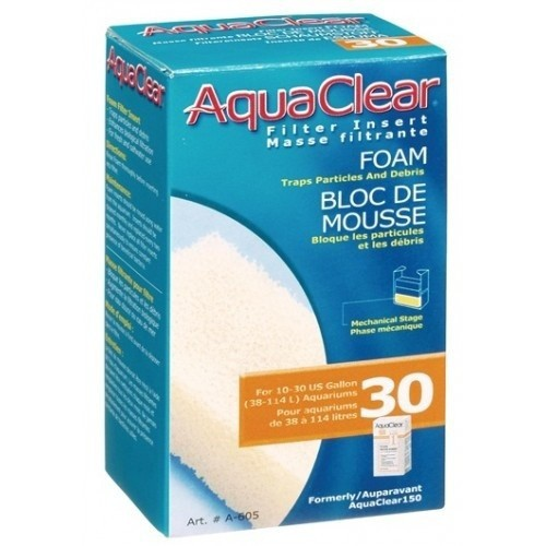 Carbón Aquaclear Foamex 30 para acuarios