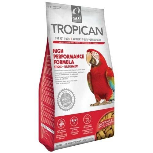 Sticks Tropican High Performance para loros sabor Natural