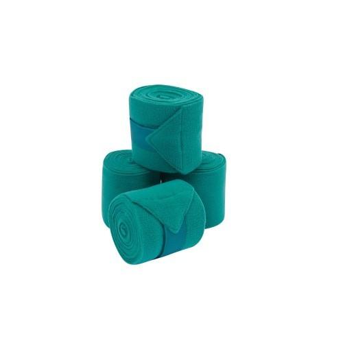 Pack 4 vendajes para caballos Coordinate color Verde Azulado