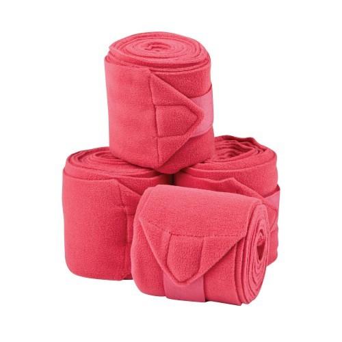 Pack 4 vendajes para caballos Coordinate color Rosa