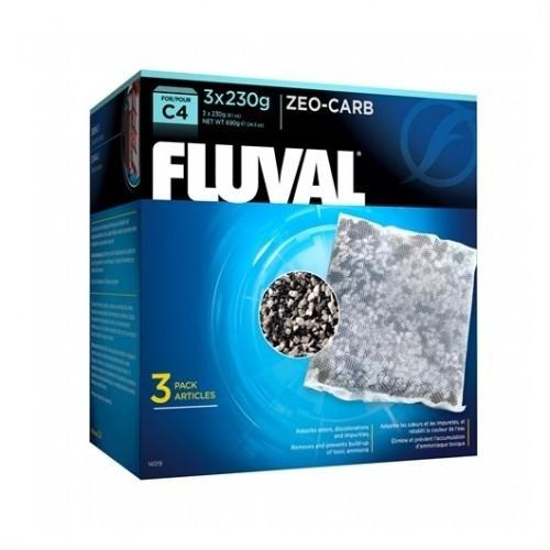 Esponja de filtración Fluval C4 Zeo Carb