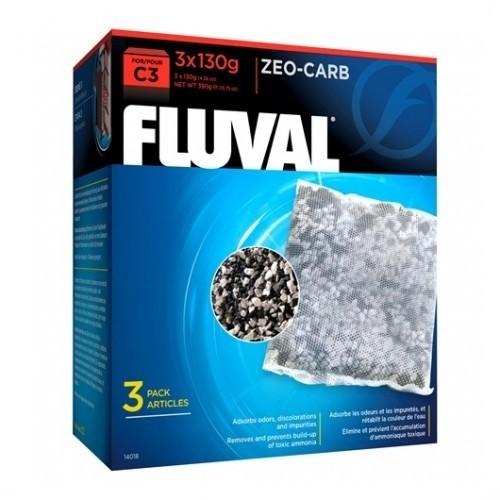 Esponja de filtración Fluval C3 Zeo Carb