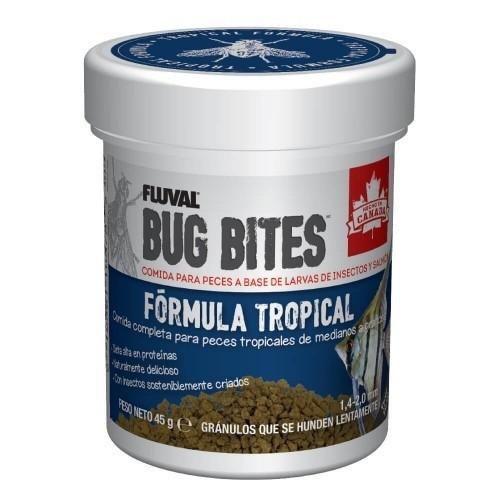 Alimento Fluval Bug Bites en gránulos para peces