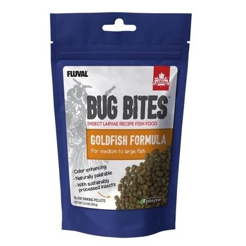 Alimento Fluval Bug Bites en gránulos para peces de agua fría