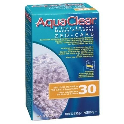 Carbón activo removedor de amoniaco Aquaclear 30