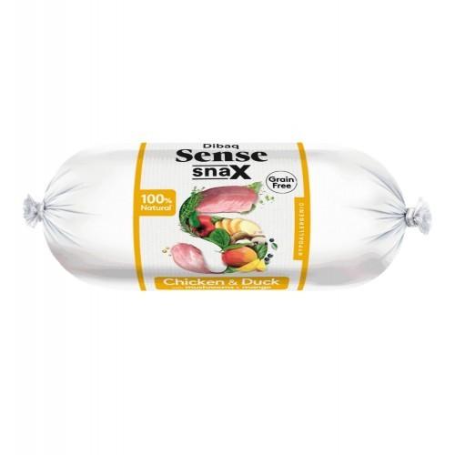 Salchicha Dibaq Sense Snax Bar para perros sabor Pollo y Pato