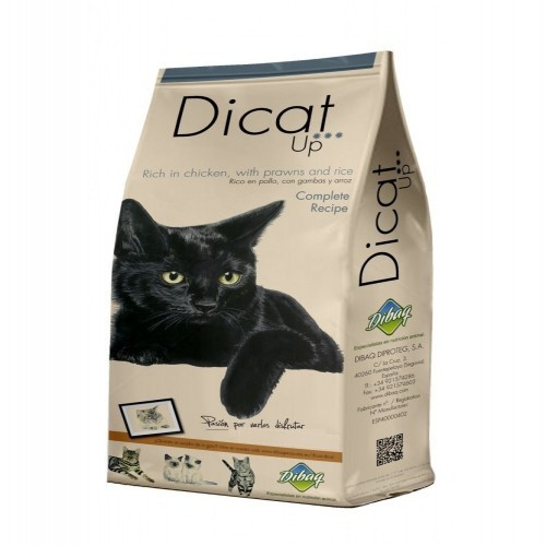 Pienso Dibaq Dicat Up complete Recipe para gatos adultos sabor Pollo