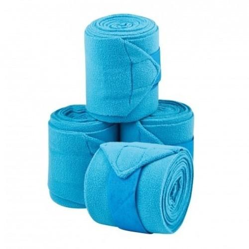 Pack de 4 vendajes Coordinate para caballos color Azul