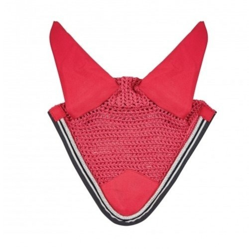 Mosquero con orejeras para caballos color Rosa/Marino/Blanco