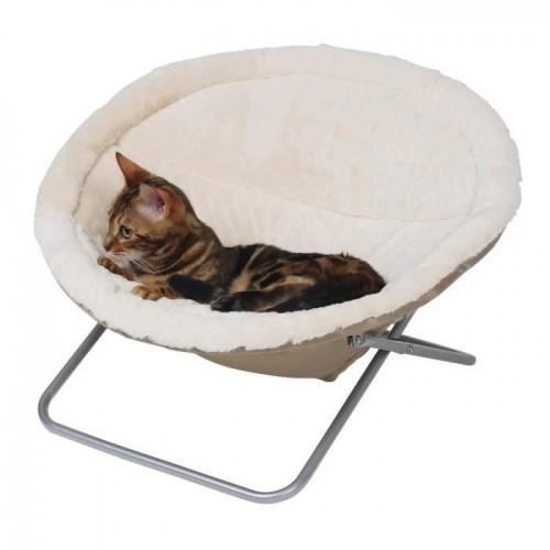 Durmiente Kerbl Alice para gatos color Beige
