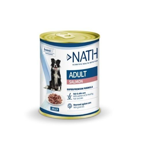 Comida húmeda Nath Adult Salmón para perros