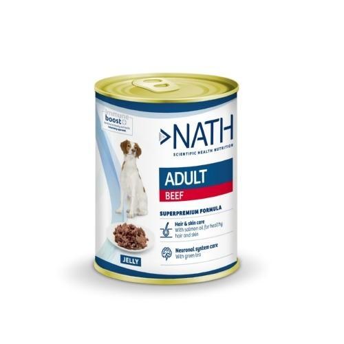 Comida húmeda Nath Adult Ternera para perros
