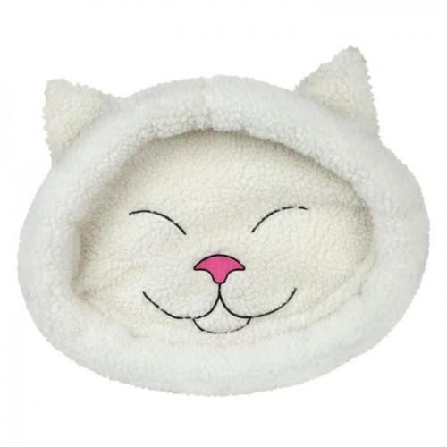 Cama blanda Mijou para gatos color Crema