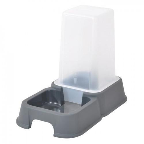 Dispensador de agua o croquetas para gatos color Gris