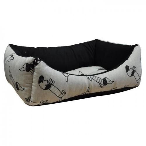 Cama rectangular Vitakraft para perros color Beige