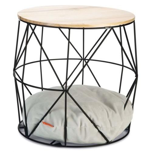 Mueble para gatos Kuja metal color Negro