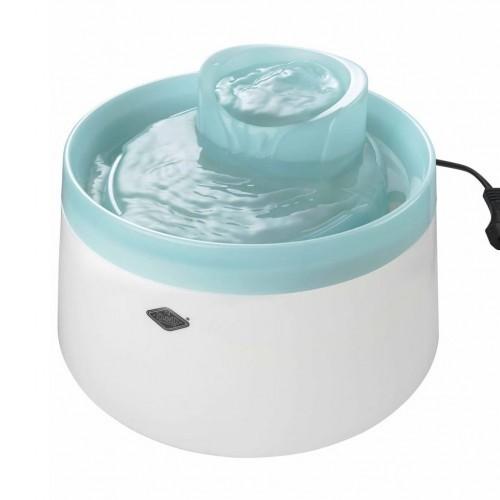 Fuente Cascade Waterdispenser para mascotas color Azul Cielo