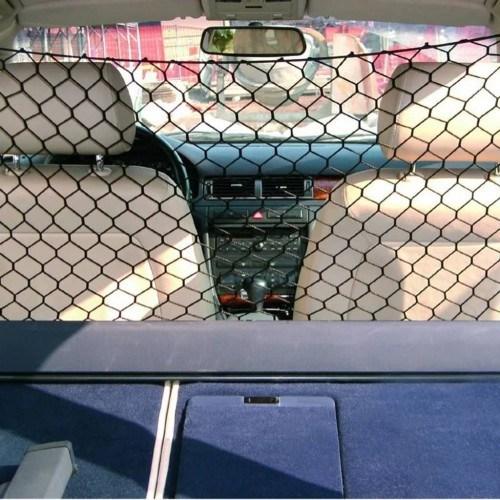 Red de seguridad Pawise para el coche color Negro