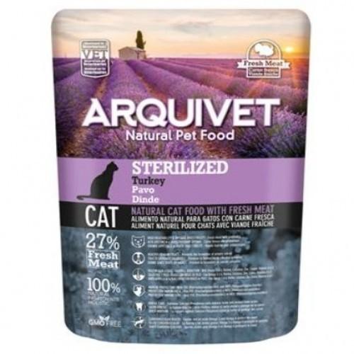 Pienso para gatos esterilizados o con obesidad sabor Pavo