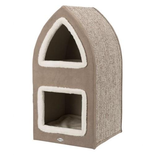 Torre para gatos Trixie Marcy color Marrón